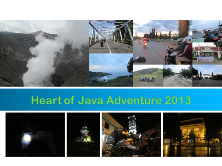 Heart of Java Adventure 2013