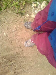 Boot dan Celana yang Kotor